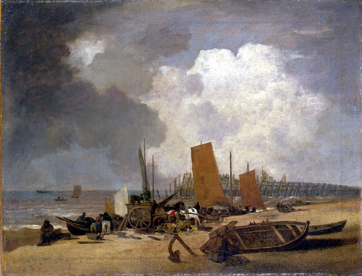 Yarmouth Jetty by John Crome