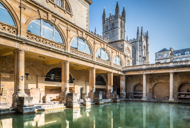 Great Bath and Abbey
