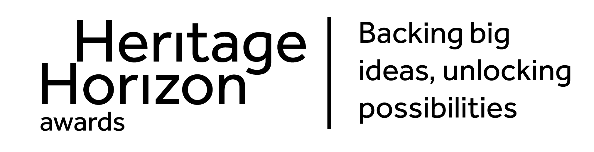 Heritage Horizon Awards - backing big idea, unlocking possibilities