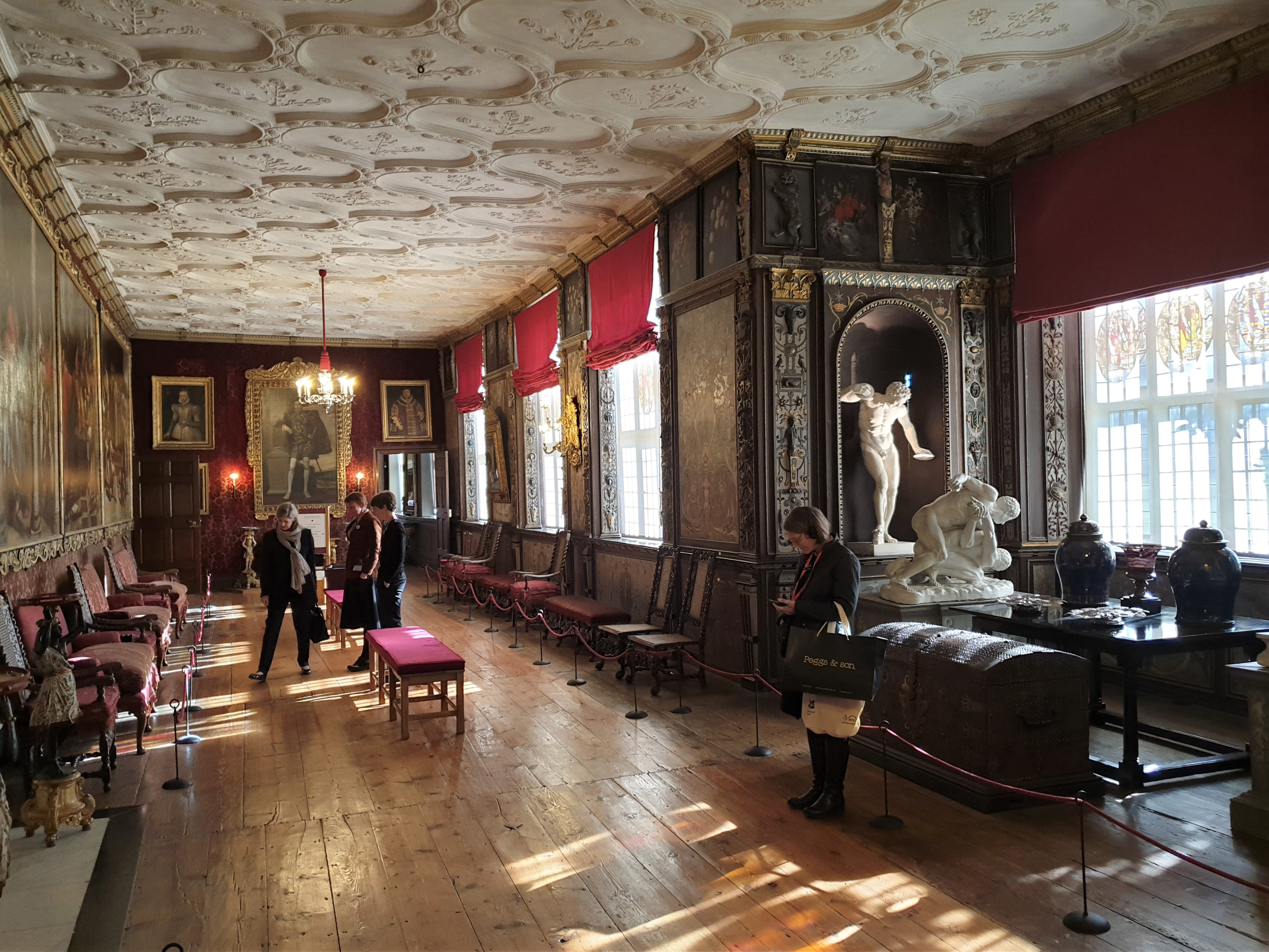 Grand room at Knole