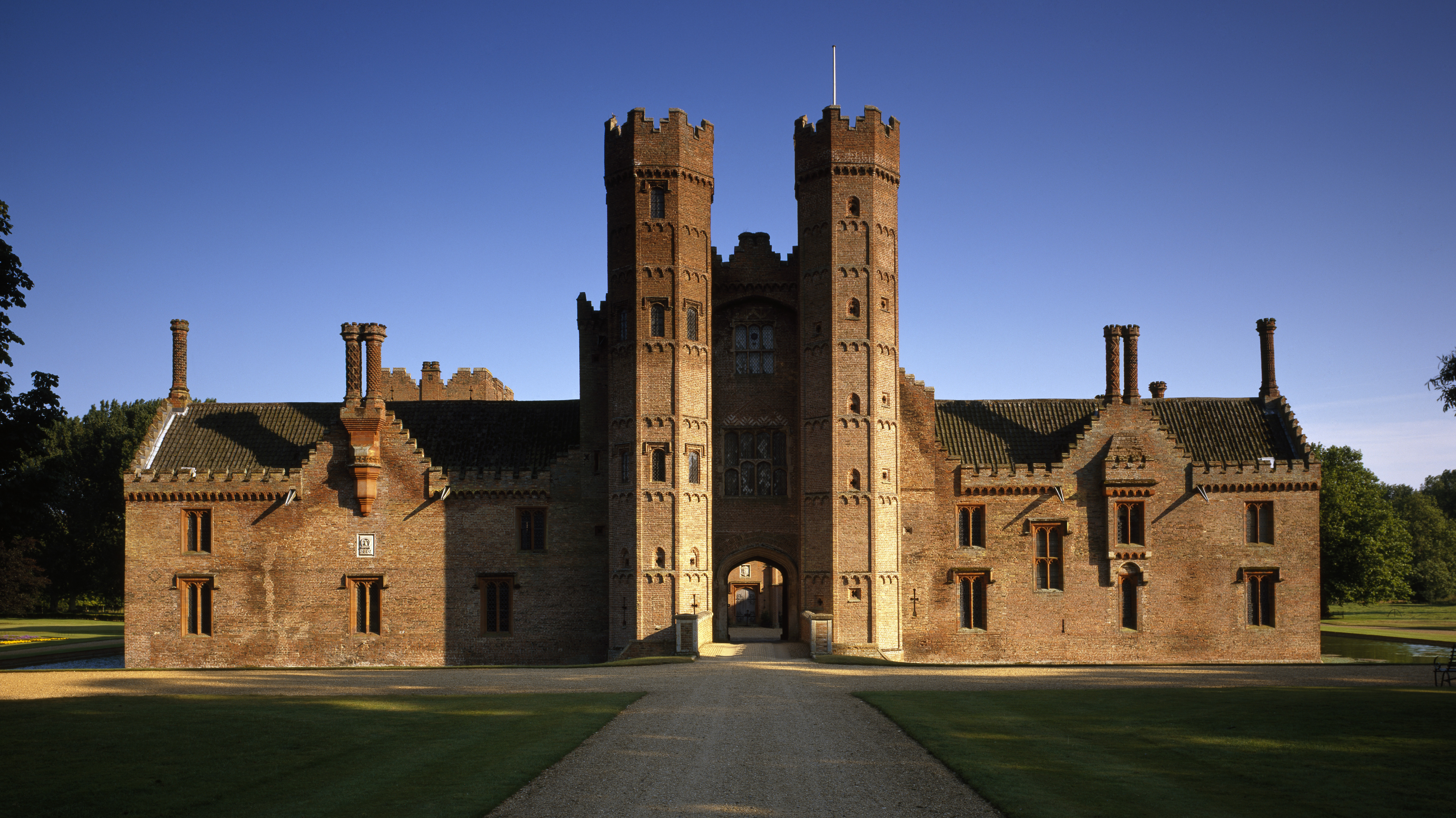Oxburgh Hall's Gatehouse