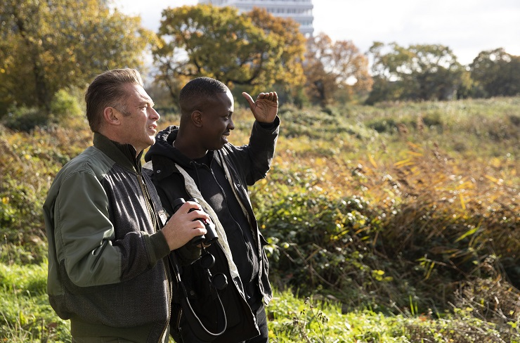 Chris Packham and Jamal Edwards