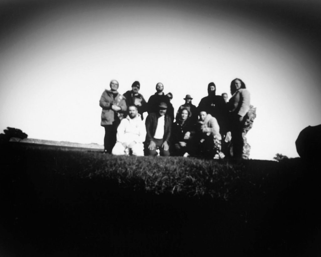 Group through pinhole camera